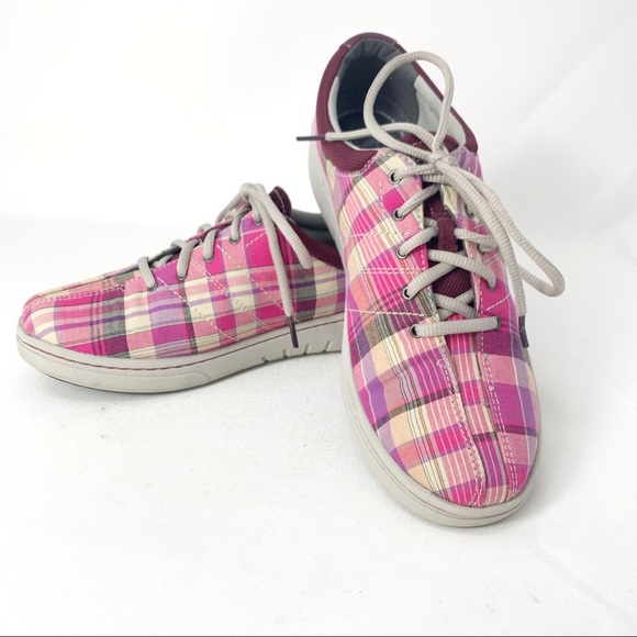 Dansko Shoes   Dansko Brandi Pink Plaid